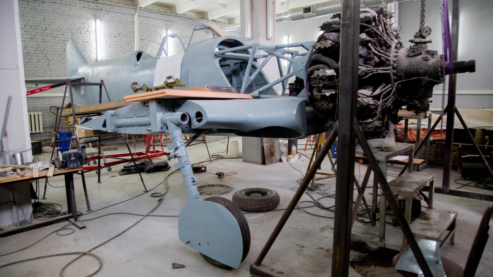Обои подбитый, советский, самолеты, истребитель. Авиация foto 3