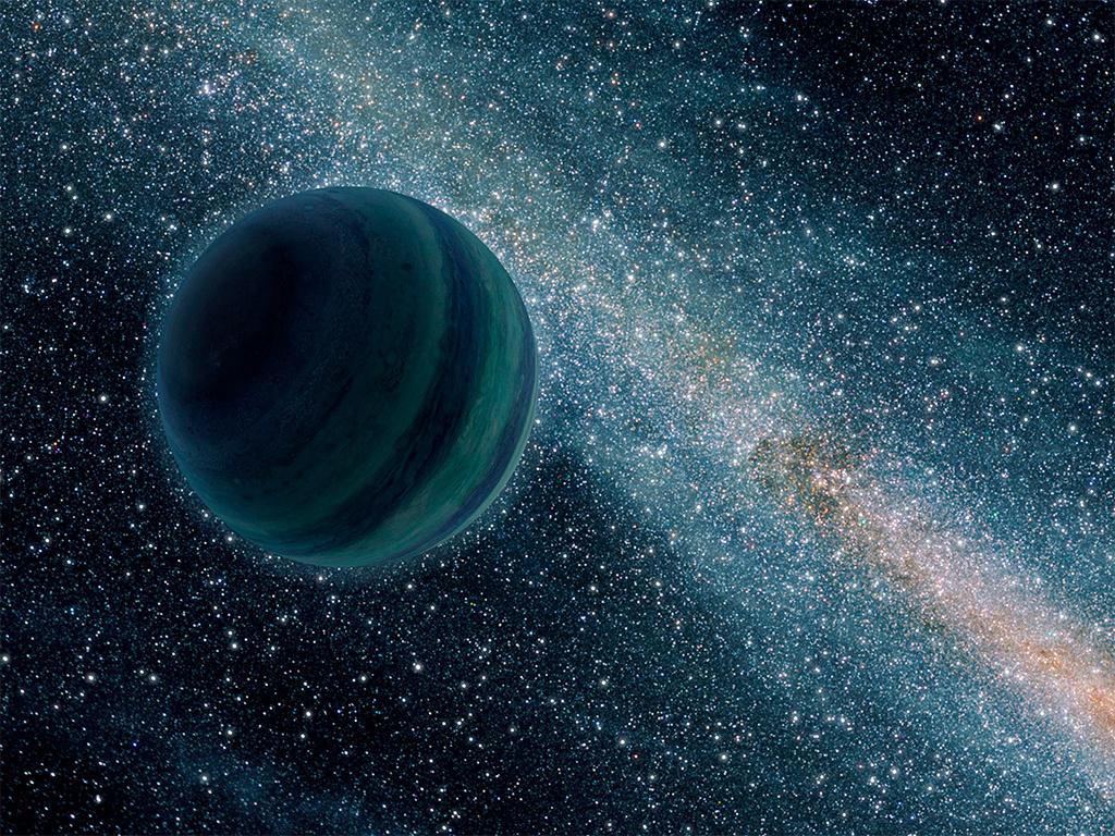 Обои Бездна, пустота, планеты, туманность. Космос foto 14